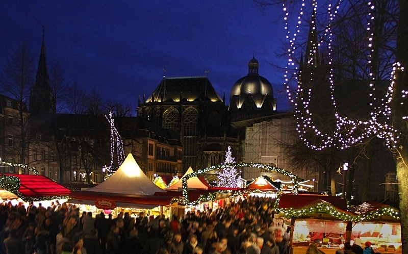 Christmas market, Aachen, Germany - Christmas