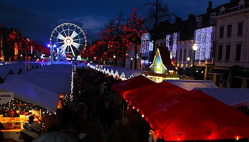 Place Saint Katherine, Brussels, Belgium - Christmas
