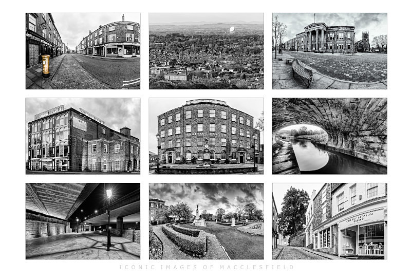 Iconic Images of Macclesfield (1) - Other buildings