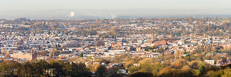 Macclesfield panorama - Other buildings
