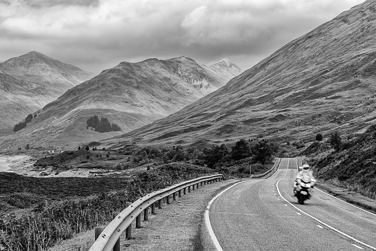 A82 by the side of Loch Cluanie (2) - Other Locations