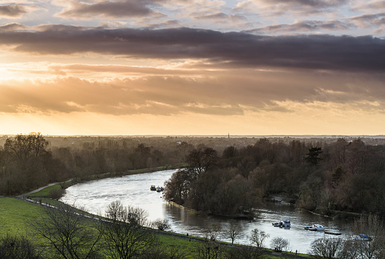 The Thames from Richmond Hill - Other locations