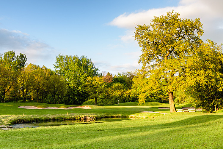 Approach to the 12th green (1) - The Tytherington Club