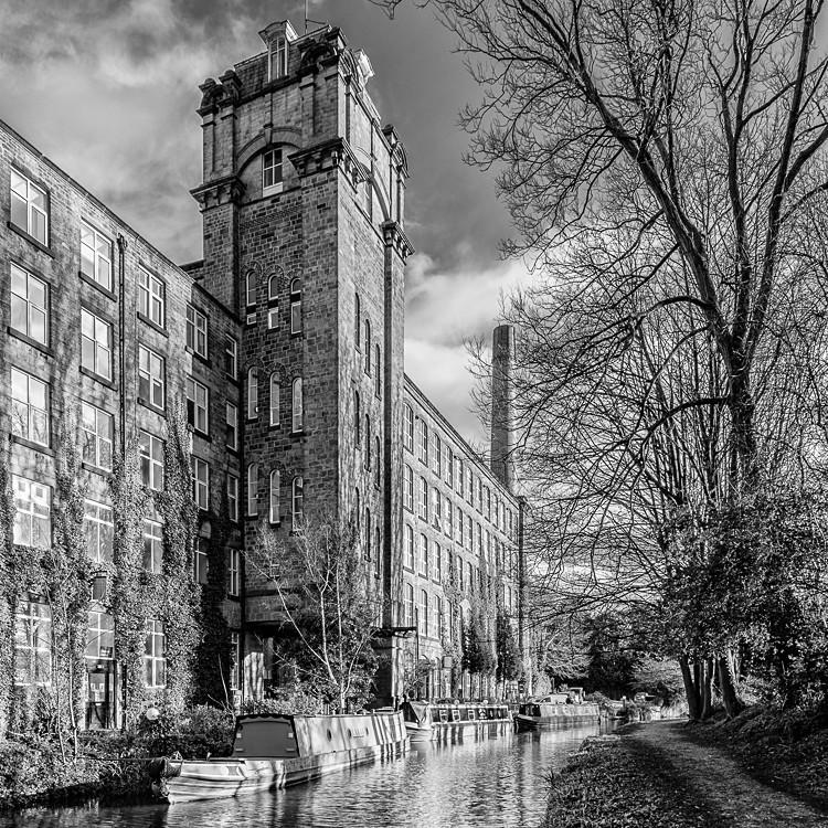 Clarence Mill, Bollington (1) - Macclesfield Mills