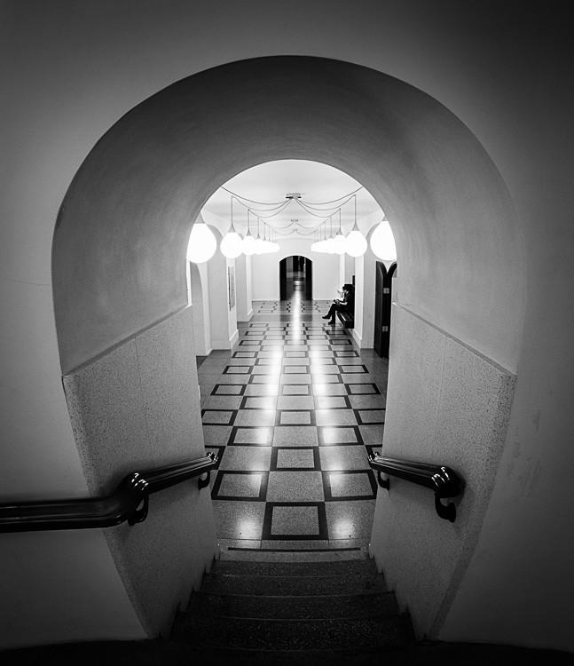Inside Tate Britain - Street Photography