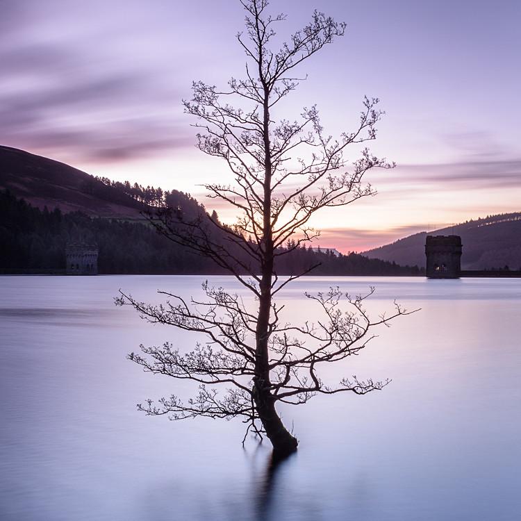 Derwent Reservoir Towers (4) - Derwent Reservoir