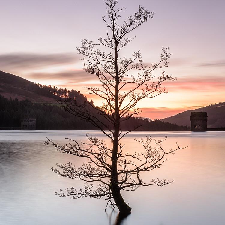 Derwent Reservoir Towers (5) - Derwent Reservoir