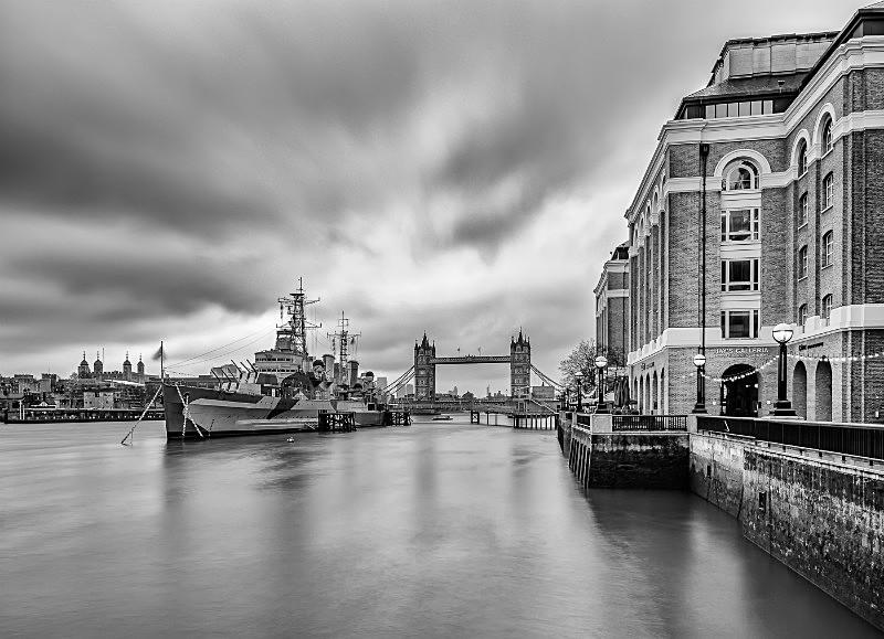 HMS Belfast and Tower Bridge - Tower Bridge