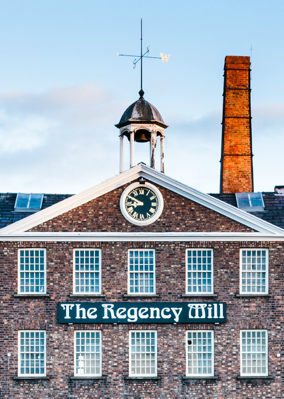 The Regency Mill, Macclesfield - Macclesfield Mills