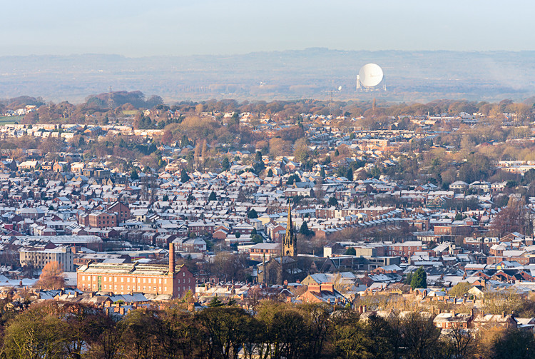 Hovis Mill and Jodrell Bank (2) - Macclesfield Mills