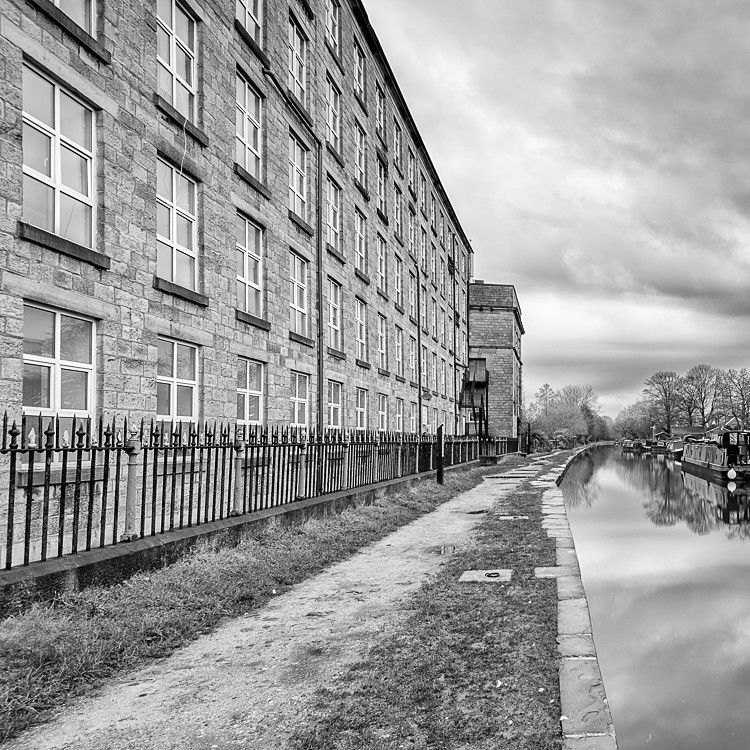 Adelphi Mill, Bollington - Macclesfield Mills