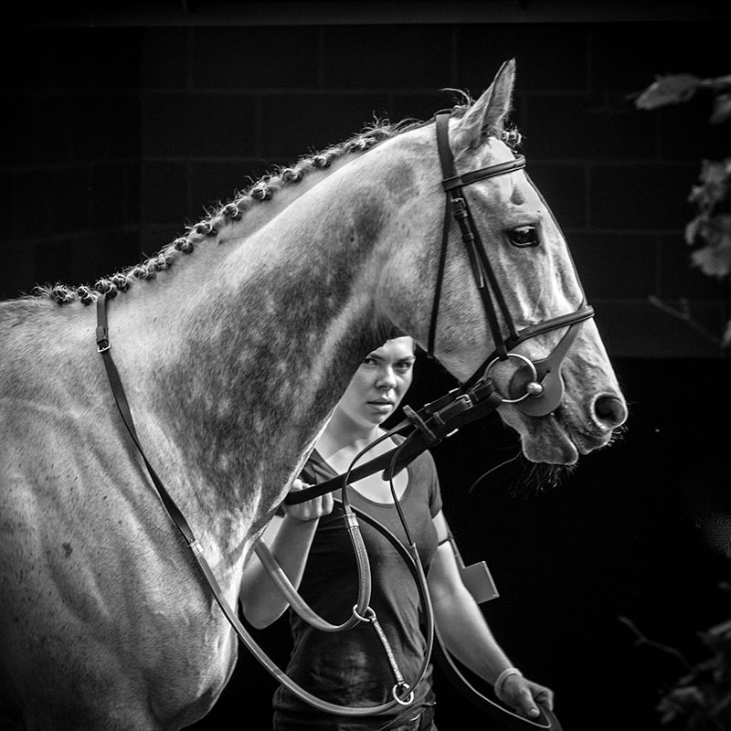 The Parade Ring - Black & White
