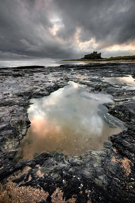 Bamburgh Castle - Coast