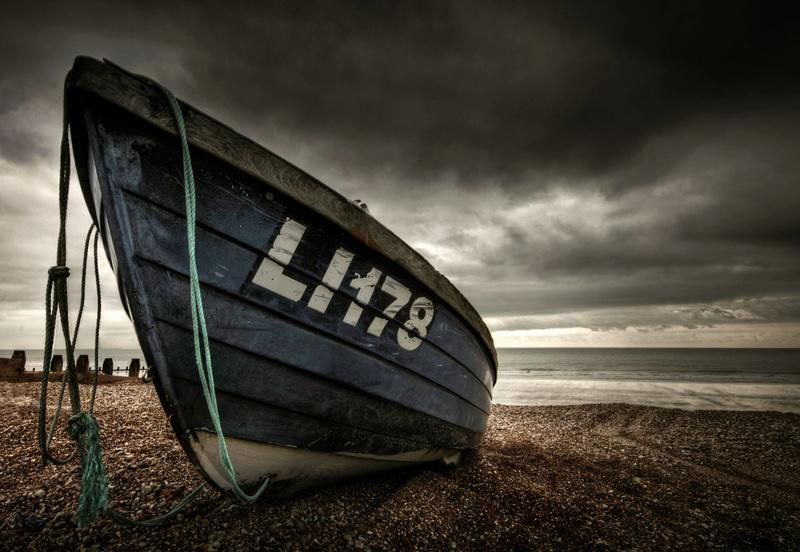 Lobster Boat, Bognor Regis - Coast