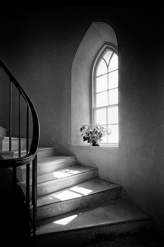 The Stairway - Black & White