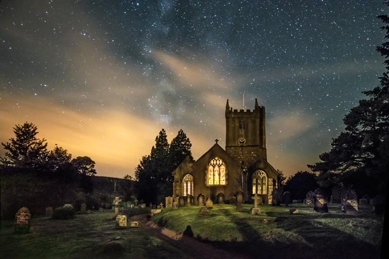 The church of St. John the Baptist, North Bovey, Devon