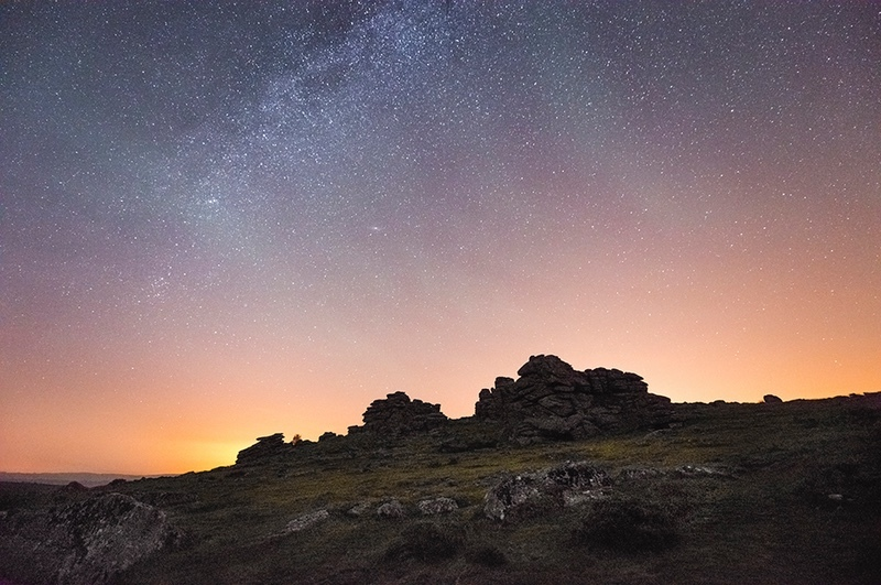 Hound Tor - The Night