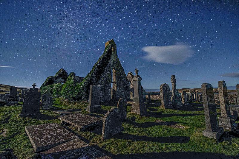 Balnakiel Church - The Night