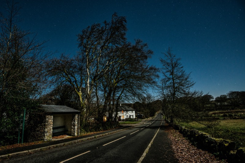 Postbridge, Dartmoor National Park - The Night