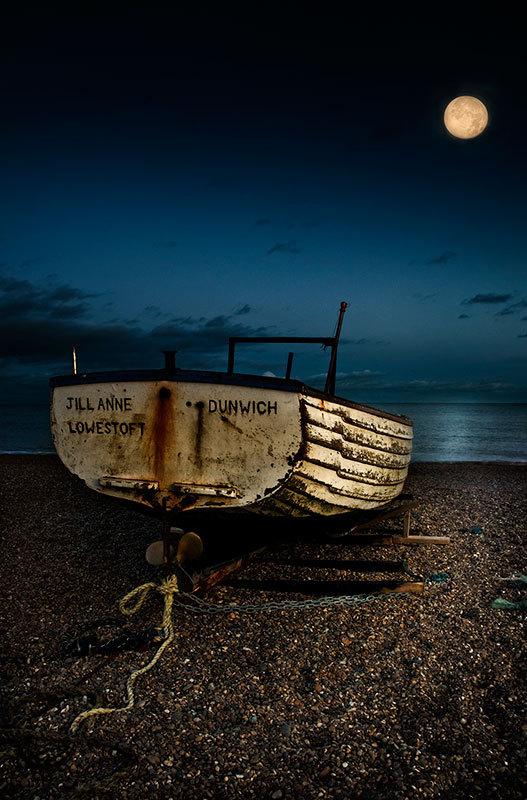 Moonlight Lit the Way - Coast