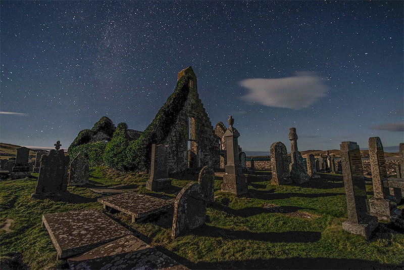 Balnakiel Church - The Night