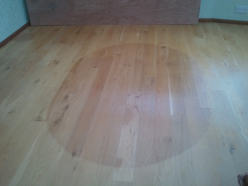 Wooden Floor Faded By The Sun