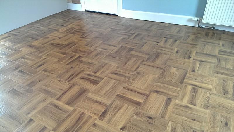 Parky Flooringparquet Style Floor Karndeanauburn Oak