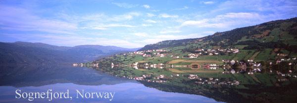 sognelfjord reflection 2 - Water