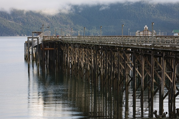 Wooden Pier, Haines, IMG_8087 - Cityscapes