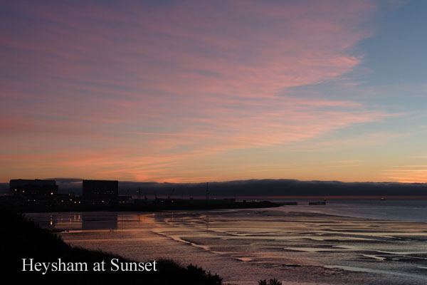 heysham power stn adj - Sunsets & Sunrises
