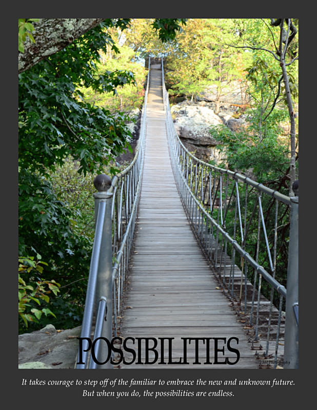 Possibilities Poster with Border JULY 2016 - Inspirational Office & Classroom Art