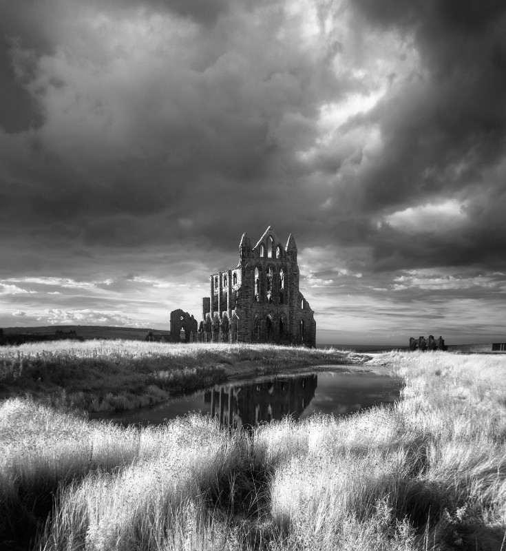 The Abbey - Black & White