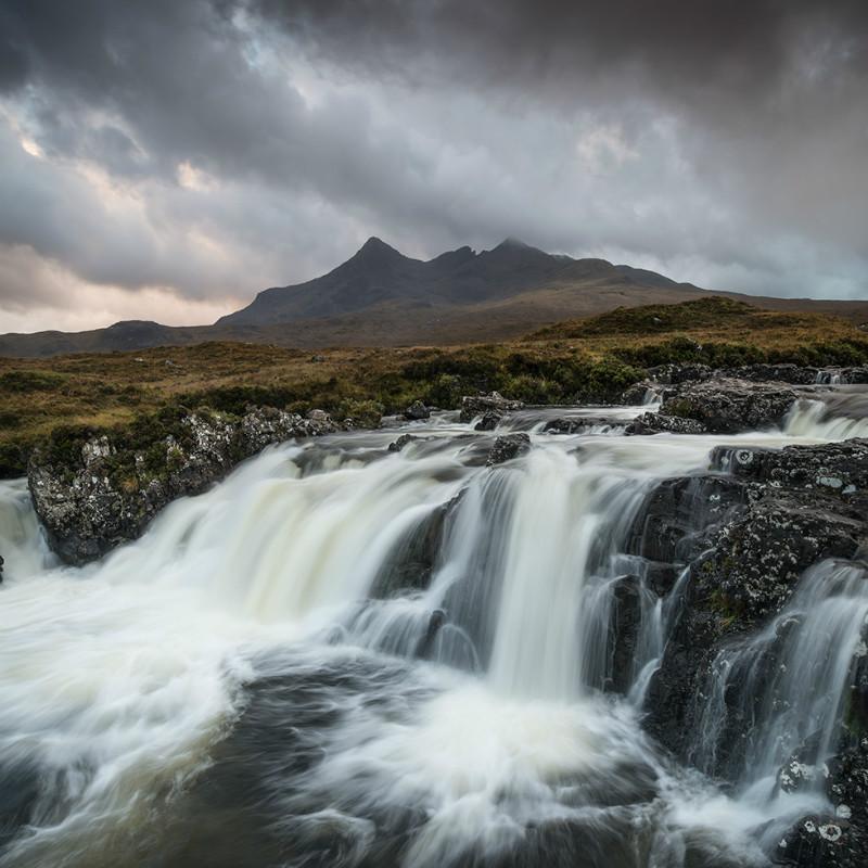 Allt Dearg Mor waterfall - Isle Skye October 2014 & November 2016