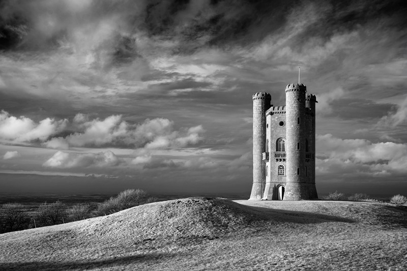 Broadway Tower - Black & White