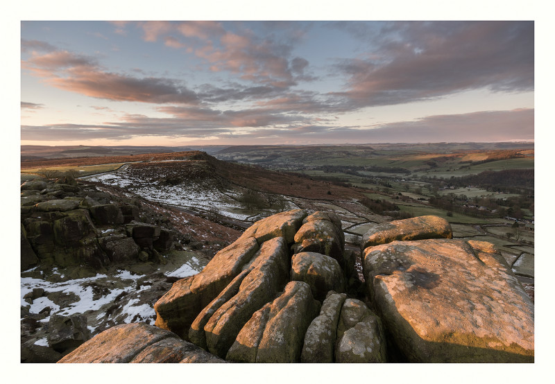 The Curbar Edge - Landscapes