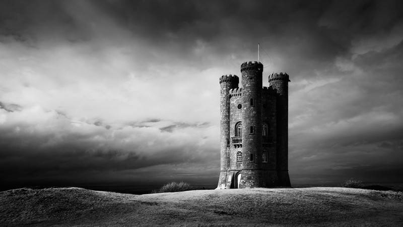 The Tower - Black & White