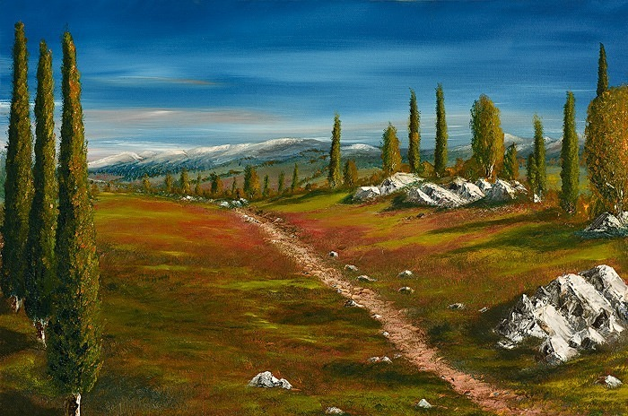 Mountain path. - Landscapes