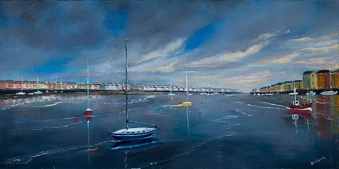 Dungarvan summer. - Seascapes.