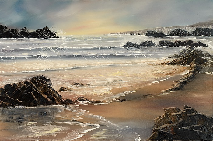 Tides coming in. - Seascapes.