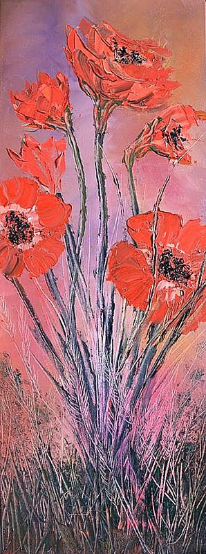 Summer poppies. - Landscapes