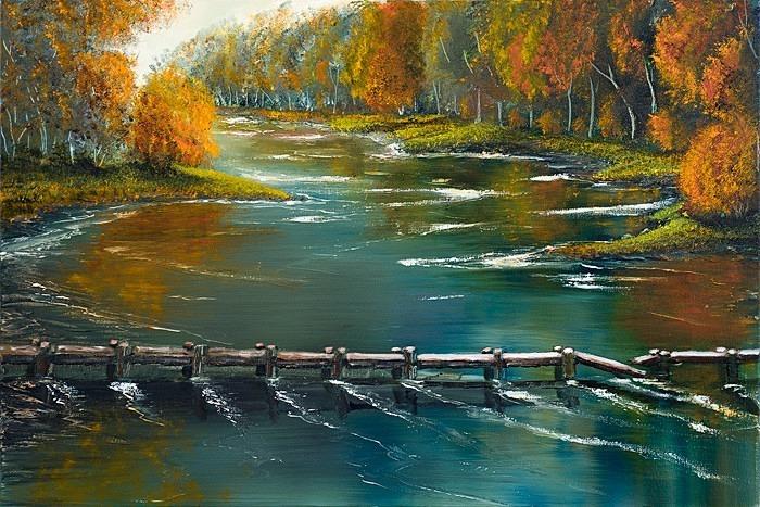 Autumn scene,