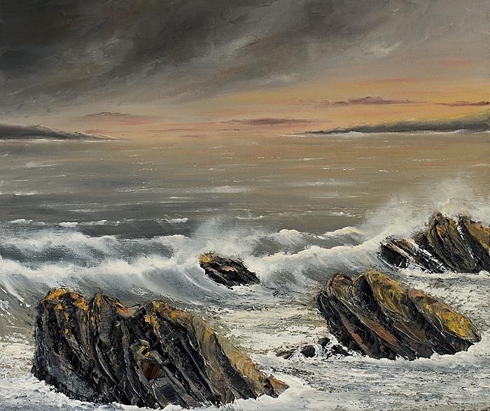 Rocky shores - Seascapes.