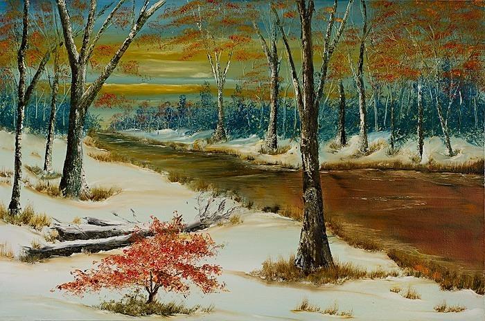 Winters glow - Landscapes