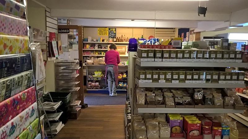 - Shop