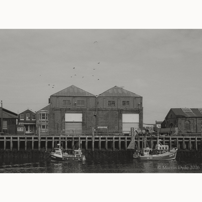 Newhaven Docks study 2 | The Silver Monochrome: black-and-white film photography by Martin Dyde