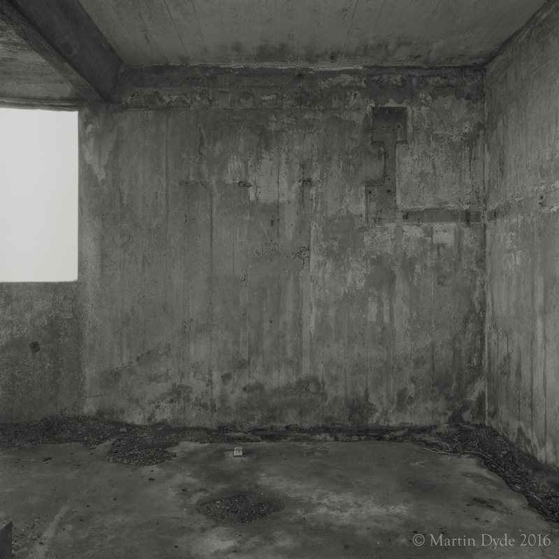 World War II building, Mumbles Head, Gower, Wales | The Silver Monochrome: black-and-white film photography by Martin Dyde