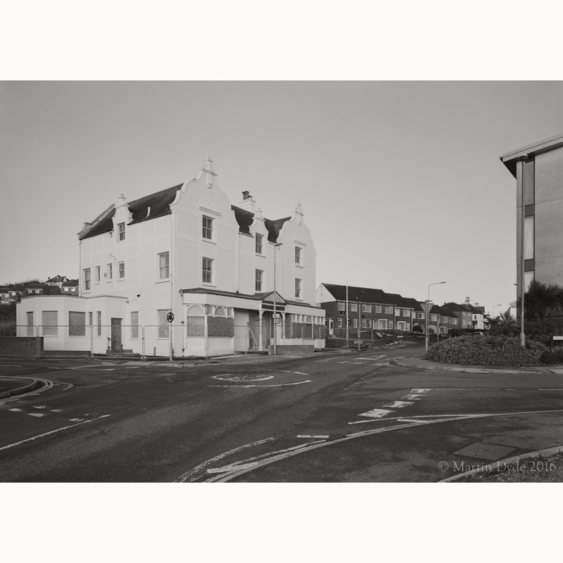 The Harbourside Inn, Newhaven | The Silver Monochrome: black-and-white film photography by Martin Dyde