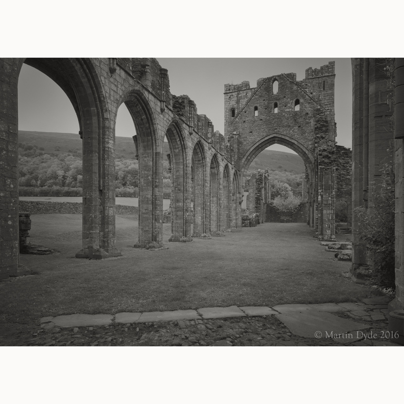 Llanthony Priory study 1, Black Mountains, Wales | The Silver Monochrome: black-and-white film photography by Martin Dyde