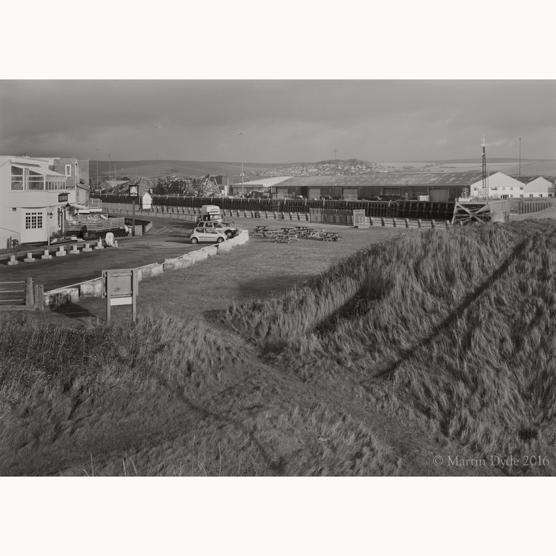 The Hope Inn and Newhaven Docks | The Silver Monochrome: black-and-white film photography by Martin Dyde