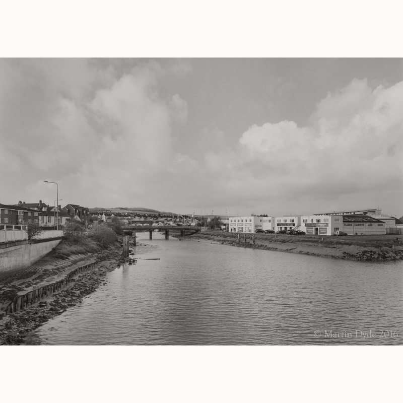 Newhaven Town and Denton Island | The Silver Monochrome: black-and-white film photography by Martin Dyde
